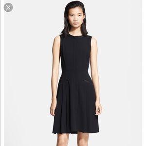 Rag & Bone Pleated Zipper Nettie Flare Shirt Dress
